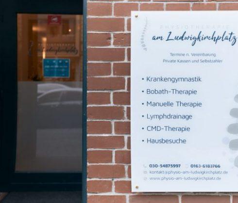 Leistungen - Physiotherapie am Ludwigkirchplatz Wilmersdorf