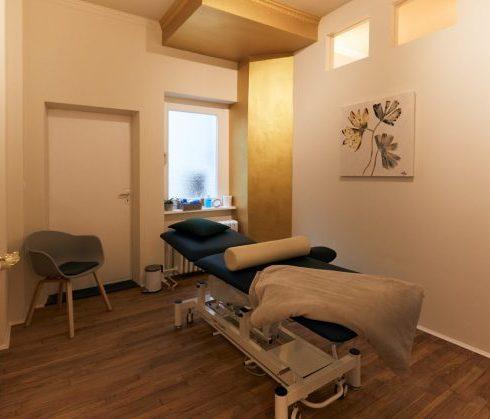Behandlungsraum in Praxis - Physiotherapie am Ludwigkirchplatz Wilmersdorf
