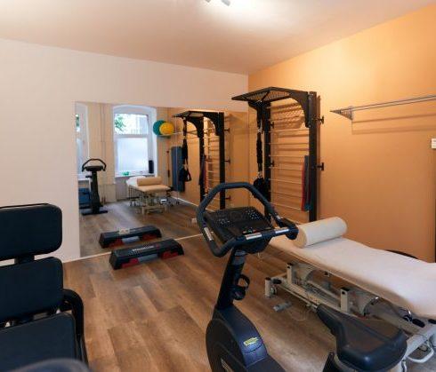 Gymnastikraum - Physiotherapie am Ludwigkirchplatz Wilmersdorf
