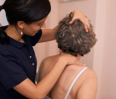 Rückenbehandlung - Physiotherapie am Ludwigkirchplatz Wilmersdorf